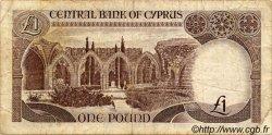 1 Pound CHYPRE  1985 P.50 TB