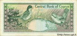 10 Pounds CHYPRE  1988 P.51 TTB