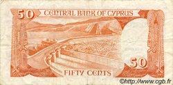 50 Cents CHYPRE  1988 P.52 TTB