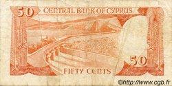 50 Cents CHYPRE  1989 P.52 B