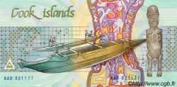 3 Dollars ÎLES COOK  1987 P.03a NEUF