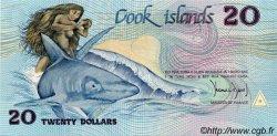 20 Dollars ÎLES COOK  1987 P.05a pr.NEUF