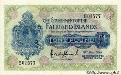 1 Pound ÎLES FALKLAND  1938 P.05 TB+
