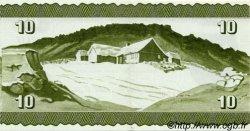 10 Kronur ÎLES FEROE  1974 P.16 SPL