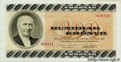 100 Kronur ÎLES FEROE  1983 P.21b TTB+