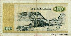 100 Kronur ÎLES FEROE  1990 P.21e TB+
