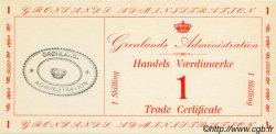1 Skilling GROENLAND  1942 P.M08 NEUF