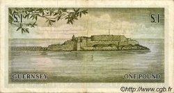 1 Pound GUERNESEY  1969 P.45b TTB