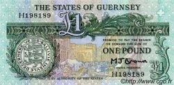 1 Pound GUERNESEY  1980 P.48b pr.NEUF