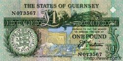 1 Pound GUERNESEY  1991 P.52b pr.NEUF