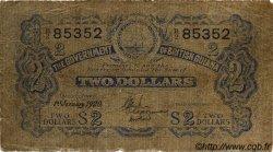 2 Dollars GUYANA  1920 P.02A TB