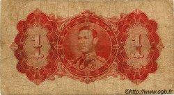 1 Dollar GUYANA  1937 P.12a B+