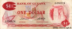 1 Dollar GUYANA  1966 P.21b TTB