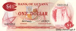 1 Dollar GUYANA  1966 P.21d NEUF