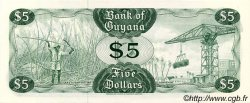 5 Dollars GUYANA  1983 P.22d NEUF