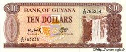 10 Dollars GUYANA  1989 P.23f NEUF