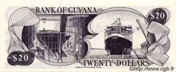 20 Dollars GUYANA  1983 P.24c pr.NEUF