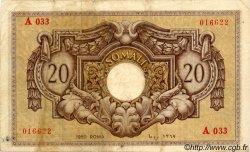 20 Somali ITALIE  1950 P.14a TTB