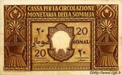20 Somali ITALIE  1950 P.14a pr.TTB