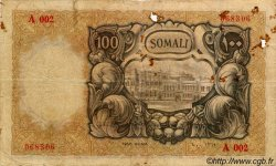 100 Somali ITALIE  1950 P.15a B+