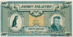 50 pence ILES JASON  1978 P.-- NEUF