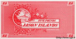 5 Pounds ILES JASON  1978 P.-- NEUF
