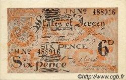 6 pence JERSEY  1941 P.01a TTB+