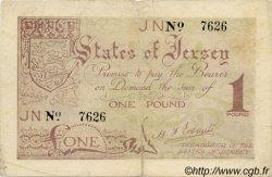 1 Pound JERSEY  1941 P.06a TB+