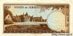 10 Shillings JERSEY  1963 P.07a TTB+