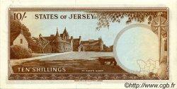 10 Shillings JERSEY  1963 P.07a SPL