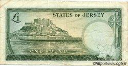 1 Pound JERSEY  1963 P.08a TB+
