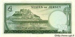 1 Pound JERSEY  1963 P.08a pr.SPL