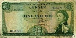 1 Pound JERSEY  1963 P.08b B