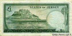 1 Pound JERSEY  1963 P.08b TTB