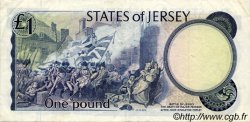 1 Pound JERSEY  1976 P.11a TTB