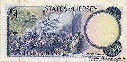1 Pound JERSEY  1976 P.11b TTB