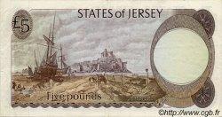 5 Pounds JERSEY  1976 P.12a TTB+