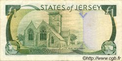 1 Pound JERSEY  1989 P.15a TTB