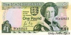 1 Pound JERSEY  1989 P.15a NEUF