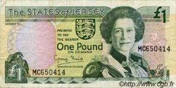 1 Pound JERSEY  1993 P.20a TB