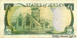 1 Pound JERSEY  1993 P.20a TTB