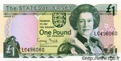 1 Pound JERSEY  1993 P.20a NEUF