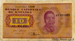 10 Francs KATANGA  1960 P.05a pr.TB