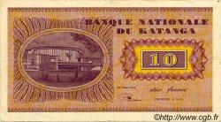 10 Francs KATANGA  1960 P.05a TTB