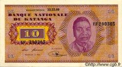10 Francs KATANGA  1960 P.05a SPL