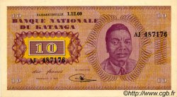 10 Francs KATANGA  1960 P.05a pr.NEUF