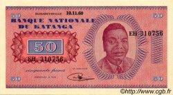 50 Francs KATANGA  1960 P.07a SPL