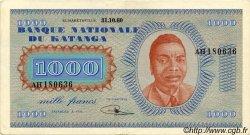 1000 Francs KATANGA  1960 P.10a TTB+