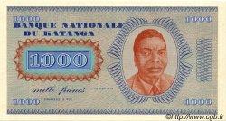 1000 Francs KATANGA  1960 P.10r pr.NEUF