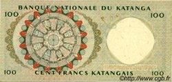 100 Francs KATANGA  1963 P.12b SPL